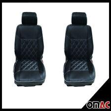DIMOND Kunstleder Schonbezüge Sitzbezug Sitzbezüge VW T4 (schwarz-weiß ) 1+1