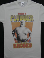 Dusty Rhodes Son of a Plumber Officially Licensed Wrestling WWE T-Shirt