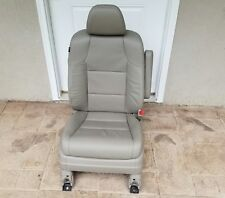 14 - 17 Honda Odyssey FRONT Beige Leather Right Passenger seat w/AIRBAG OEM