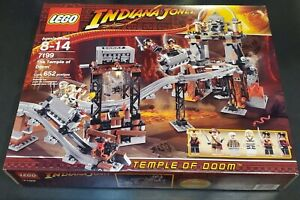 Lego Indiana Jones The Temple Of Doom 7199 SEALED NEW RARE FROM 2009