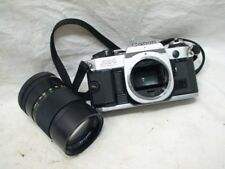 VINTAGE CANON AE-1 PROGRAM 35MM SLR CAMERA W/LENS