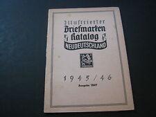 Illustrierter Briefmarkenkatalog Neudeutschland 1945/46