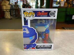 Funko POP! Movies Marvel Avengers Mech Series CAPTAIN AMERICA #829