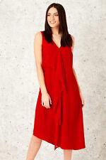 Roman Originals Womens Yellow Waterfall Front Dress Sizes 10-20