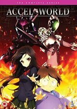 Accel World Complete Series Collection DVD New & Sealed ANIME Region 2 MVM