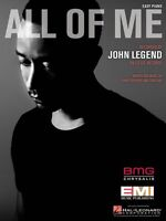 All of Me Sheet Music Easy Piano John Legend NEW 000130720