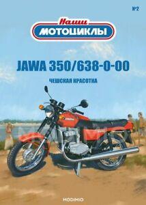 JAWA 350/638-0-00 1:24 OUR MOTORCYCLES # 2