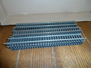 HO SCALE TRACK LOT 9 IN. STRAIGHTS  LOT OF 22 PCS.