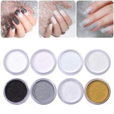 8 Colors Nail Holographic Glitter Powder Dust Nail Art  3D Decoration