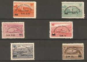 Albania Albanien Albanie 1948 MiNr 442-447 MNH**