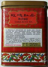 GOLDEN DRAGON ROSE CHINA BLACK TEA Loose Leaf - 6.3 Oz ( 180g) Tin