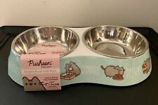 Pusheen Double Bowl With Base New In Bag