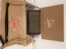 CHRISTIAN LOUBOUTIN Zoompouch Spiked Leather Shoulder Bag RRP £765 NEW
