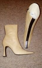 £800 Fabulous elegant super soft Chanel stripe boots 39 UK 6 great condition