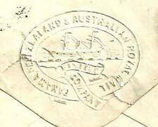 1D Rojo Placa 89 London 1865 logotipo Panamá Nueva Zelanda Australia Royal Mail Co Ltd