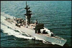 USS Jesse L. Brown FF-1089 Fast Frigate ship postcard US Navy (cd2)