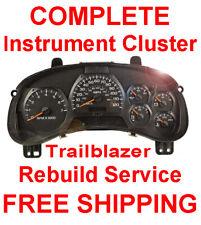 2002-2009 Chevy Trailblazer Speedometer Instrument Gauge Cluster Panel Repair