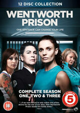 Wentworth Prison - Complete Series 1, 2 and 3 ----- 12-Disc DVD Boxset