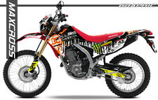 HONDA CRF250L CRF250M MAXCROSS GRAPHICS KIT DECALS DECAL STICKERS FULL KIT #27