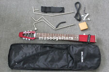 Ministar Brand Microstar Travel Electric Guitar With Carring Bag