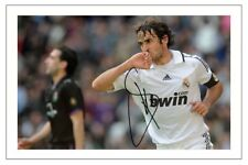RAUL REAL MADRID SOCCER SIGNED AUTOGRAPH PHOTO PRINT