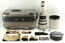 [TOP MINT w/ Trunk Case & Hood] Canon EF 600mm F4 L IS USM Lens From Japan 342