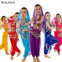 New Handmade Children Belly Dance Costumes Kids Belly Dancing Egypt Dance Cloth
