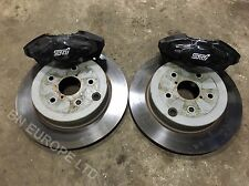 SUBARU IMPREZA LEGACY FORESTER REAR 2POT BREMBO BRAKE CALIPERS DISCS WRX STI 22B