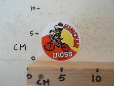 STICKER,DECAL BMX JUNCKER CROSS FIETSEN CYCLE
