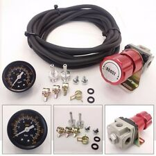 Universal Red Turbo Manual Boost Controller with Gauge 1-150 PSI MBC SR20DET SR