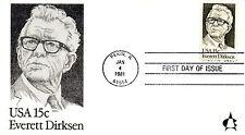 US FDC #1874 Dirksen, Andrews (5223)