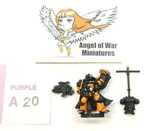 40K Space Marines Marine Captain Games Day 1999 (Metal) PA20