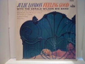 Julie London feelin good lp on liberty label good cond