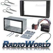 Ford Fusion Doble Din Fascia Panel Adaptador Placa Cage Kit de montaje ISO aérea