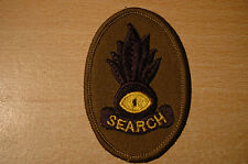 British Army - Royal Enginners - Search - Sew On Patch - No308