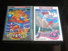 Nintendo NES Famicom / FAMILY BOXING /FAMILY TENNIS