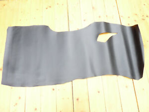 Black Full Grain Back Bend Butt Bridle Leather Cow Hide Skin 7oz 2.5 - 3mm Thick