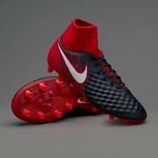 01726a720 Nike Magista Onda II DF AG-PRO Blck/White-University red Nero/