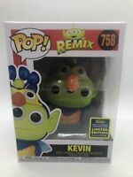 Funko Pop KEVIN #758 Alien Remix SDCC Exclusive New with Pop Protector