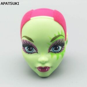 Green Bald Doll Head For Monster High Doll Head Monster 1/6 Doll Accessories
