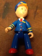"Caillou Pilot Uniform Poseable Treehouse 3"" Figure PBS RARE"