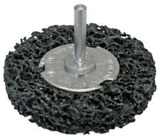 RS Pro POLY ABRASIVE WHEEL 100mm Crimped wire, Spindle Mounted, 6mm Fixing