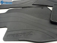 MAZDA 2 2011-2014 NEW OEM SET OF FOUR ALL WEATHER FLOOR MATS!
