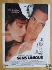 AFFICHE - SENS UNIQUE - KEVIN COSTNER 1987