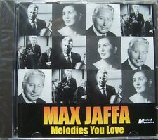 MAX JAFFA  ~ Melodies You Love NEW AND SEALED CD ABIDE WITH ME, HOLY CITY Etc