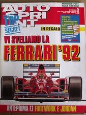 Autosprint 5 1992 con inserto TUTTI I CIRCUITI DEL MONDO - Nuova Ferrari [SC.50]