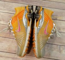 Nike Shox Women's Size US 6.5 Orange Running Sneakers UK 4 EUR 37.5