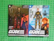 2021 G.I. Joe - Classified Series - Lot of 2 - #19 Baroness  & #05 Scarlett