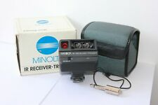 MINOLTA IR RECEIVER & TRIGGER FOR USE WITH A FLASH METER IV. MINT BOXED.