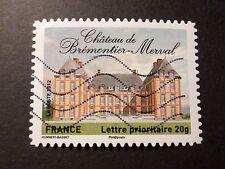 FRANCE 2012, timbre AUTOADHESIF 732 CHATEAU BREMONTIER MERVAL oblitéré, CASTLE